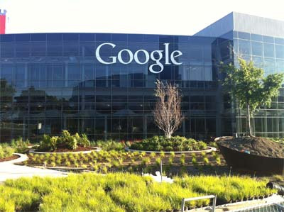 the Google headquarters in Mountain View