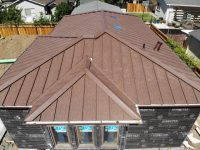 Metal roof installation in San Jose