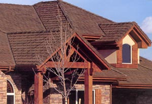 brown shingle roof installation in San Jose CA