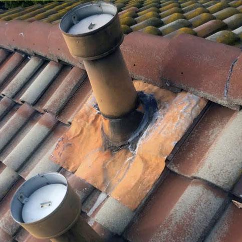 damaged vents
