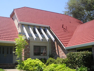 a traditional half barrel tile roof in San Jose