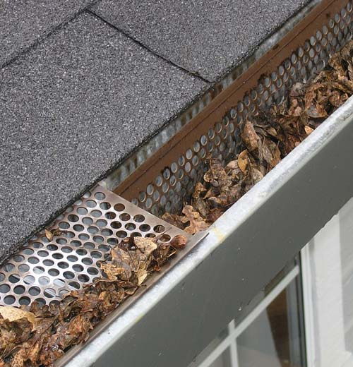 gutter needs repair