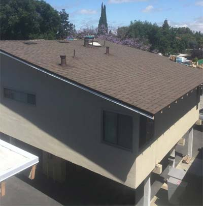 a roof repair done in Mountain View, CA