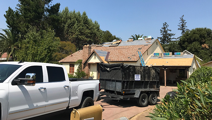 our team is ready for a new roof installation