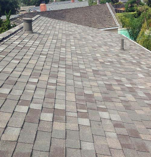 a new roof installed in Milpitas by our professional roofers