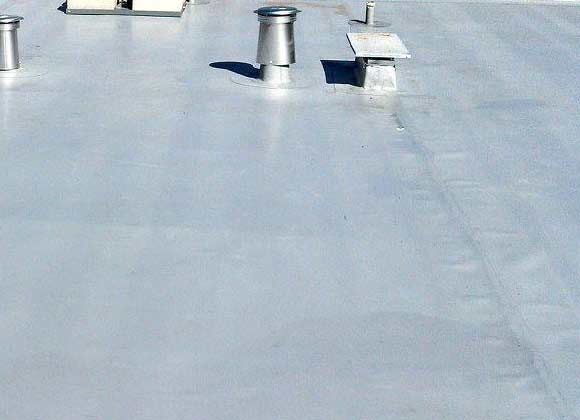 tpo added on commercial roof