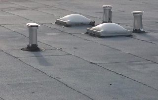 flat roof vents