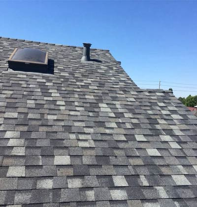 new roof installed by one of our professional roofers in Los Gatos