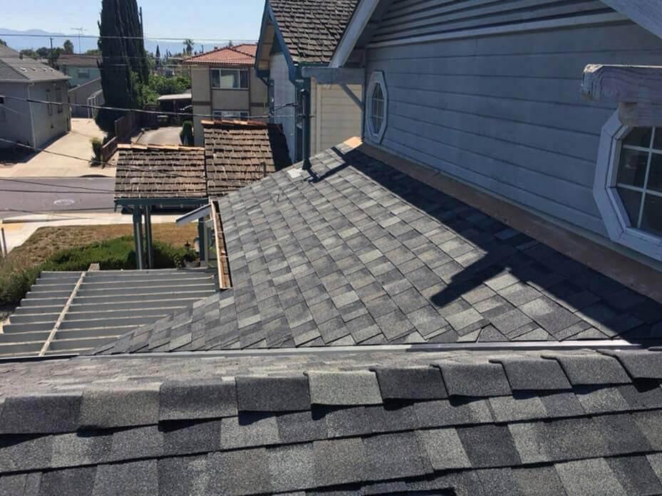 Slate grey roof installation in San Jose