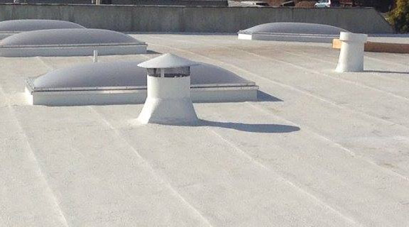 commercial roof repair done by our team