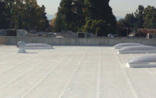 the four different types of flat roofs